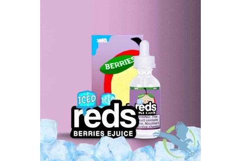 Berries Iced Reds Apple 60ml - Tinh Dầu Vape Mỹ