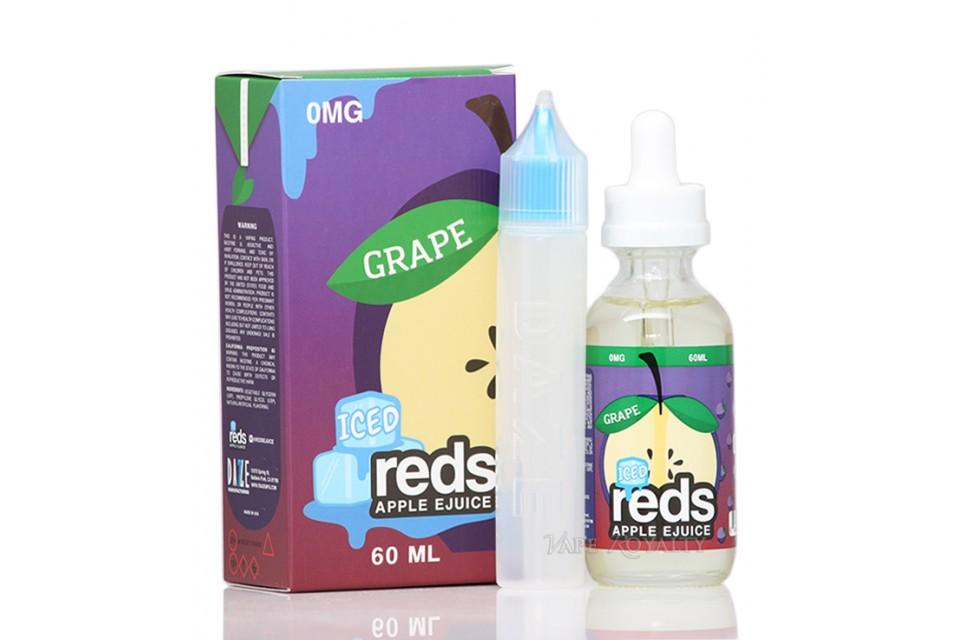 Grape Iced Reds Apple 60ml - Tinh Dầu Vape Mỹ