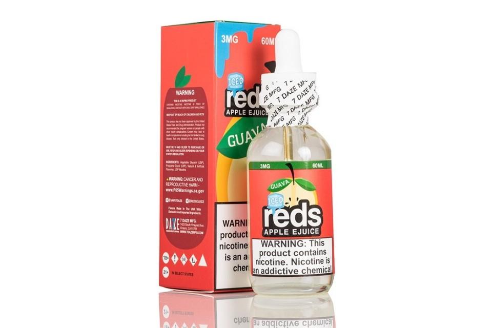 Guava Iced Reds Apple 60ml - Tinh Dầu Vape Mỹ