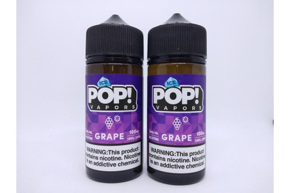 Iced Pop Grape 100ml - Tinh Dầu Vape Mỹ