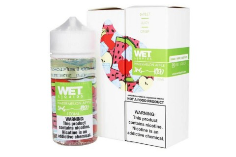 Wet Iced Watermelon Apple 100ml - Tinh Dầu Vape Mỹ