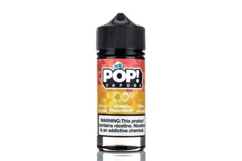 Iced Pop Juicy Mango Strawberry 100ml