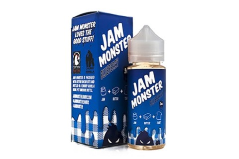 Jam Monster Blueberry 100ml - Tinh Dầu Vape Mỹ