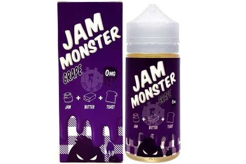 Jam Monster Grape 100ml - Tinh Dầu Vape Mỹ