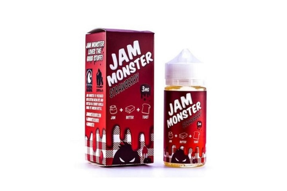 Jam Monster Strawberry 100ml - Tinh Dầu Vape Mỹ