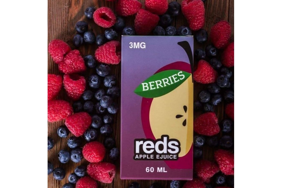 Juice Vape Táo Tươi Mát Lạnh Dâu Reds Mỹ