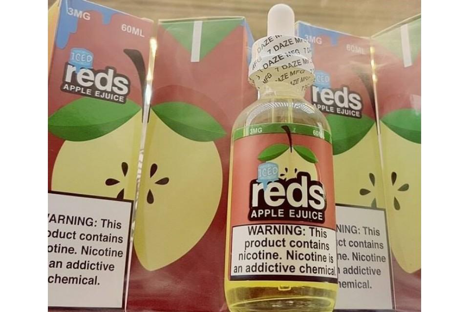Juice Vape Táo Mát Lạnh Dưa Hấu Reds Mỹ 60ml