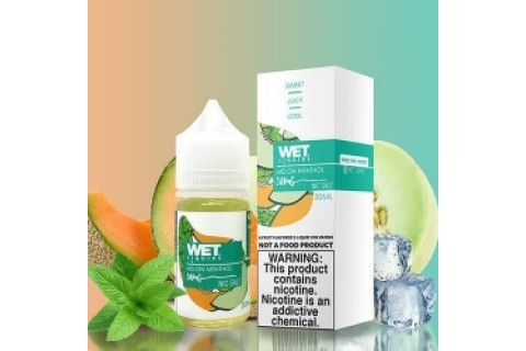 Wet Liquids SALT Melon Menthol