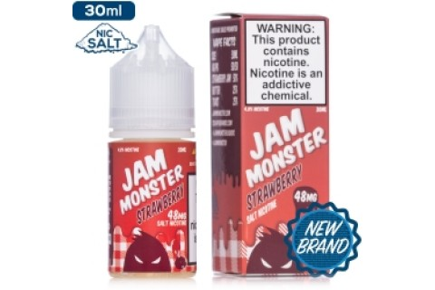 Jam Monster Salt Nic Strawberry 30Ml