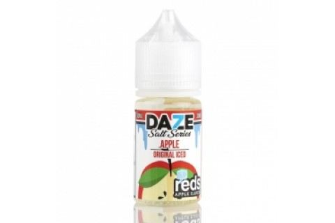 REDS APPLE ICED 7DAZE SALT 30ML