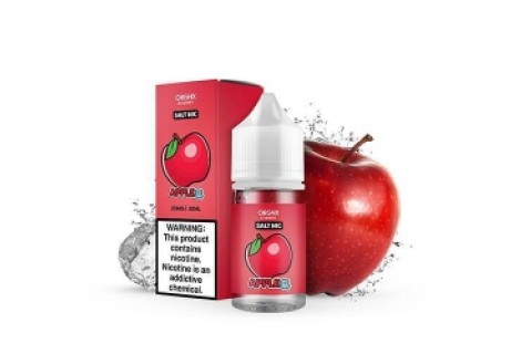Orgnx Eliquid Salt Nic Apple Ice 30Ml