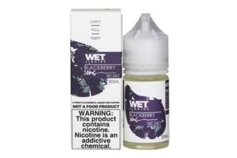 Wet Liquids Blackberry Nic Salt 30Ml