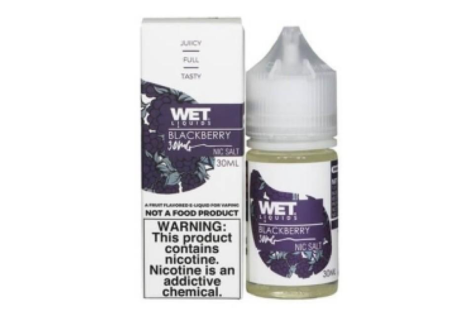 Wet Liquids Blackberry Nic Salt 30Ml