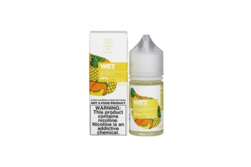 Wet Salt Nic Tropics 30Ml