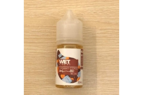 WET CREAMY COFEE SALT NIC 30ML