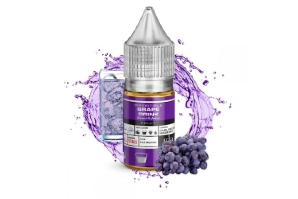 GLAS BASIX SALT NIC E-LIQUID GRAPE DRINK 30ML