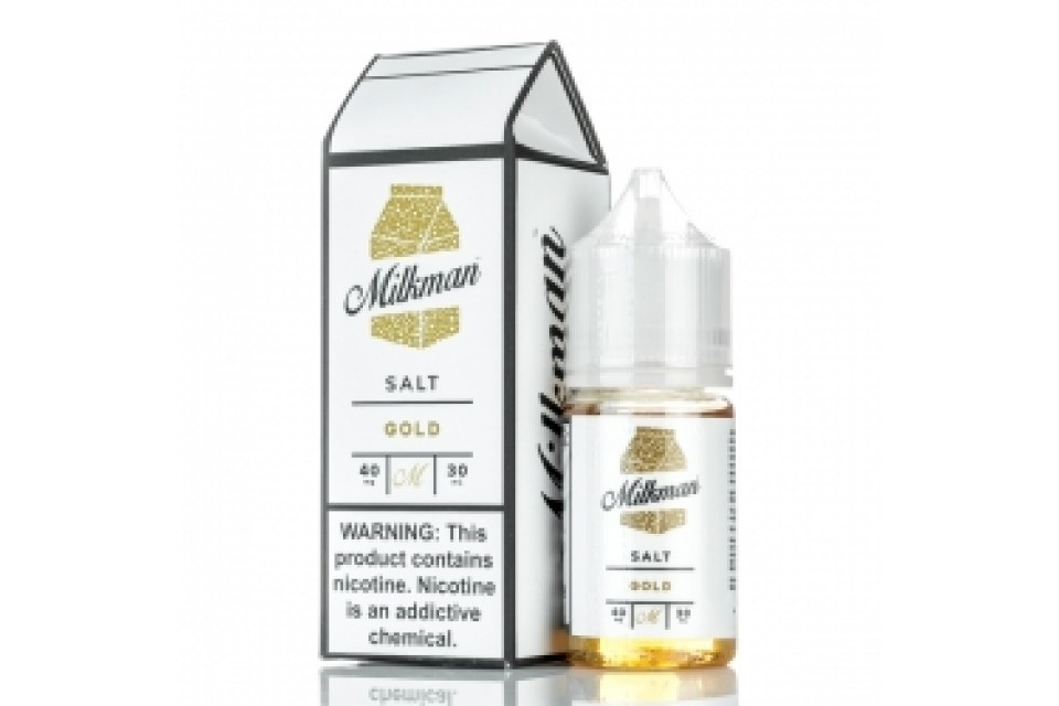 THE MILKMAN SALT GOLD 30ML