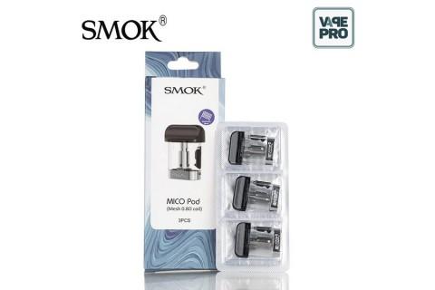Pack 3 Pod 0.8ohm Mesh Coil thay thế cho Smok Mico Pod System
