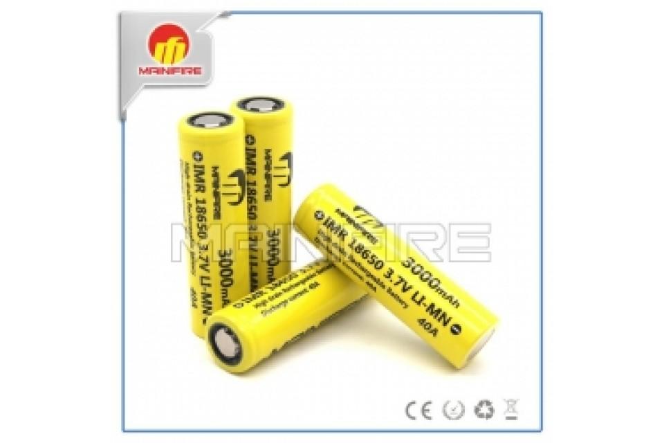 Pin mainifire 18650 3.7 LI-MN 40A